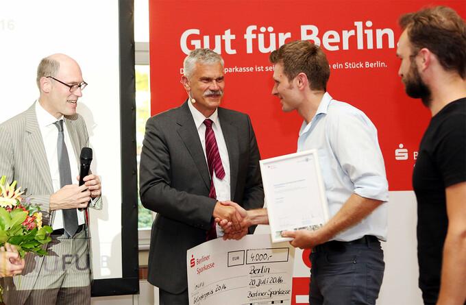 Gründerpreis für Adlershofer Inuru