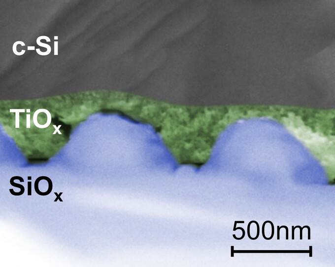 Patented nanostructure for solar cells