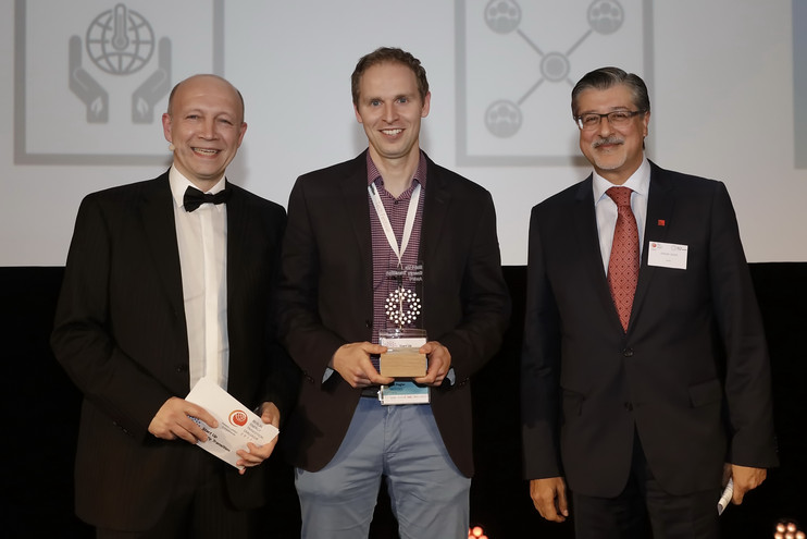 Sicoya gewinnt Start Up Energy Transition Award. Bild: Deutsche Energie-Agentur GmbH (dena)