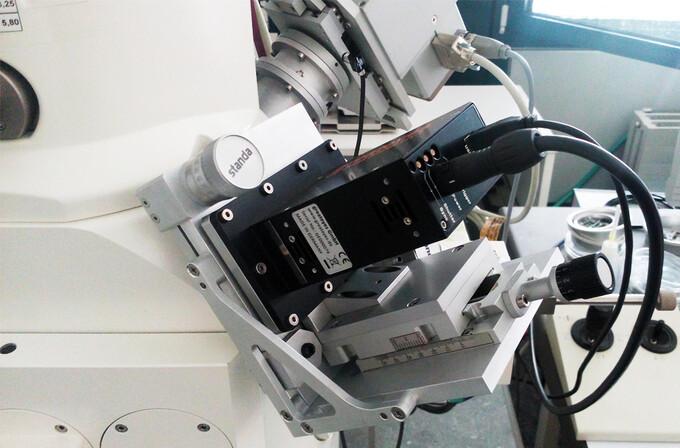 """""""Multispektral-Brille"""" für das Rasterelektronenmikroskop"""