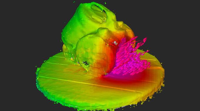 Akustisches Scannen von Messobjekten in 3D