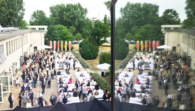 Rund 400 Gäste kamen zum Adlershofer Sommerfest