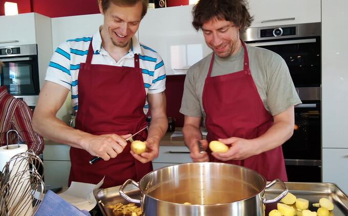 Kochen mit dem Kitchen-Coach
