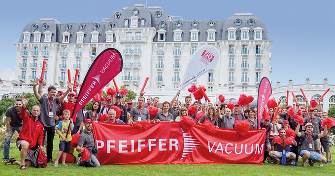 French and German Pfeiffer Vacuum employees participate successfully in the Corporate Games
