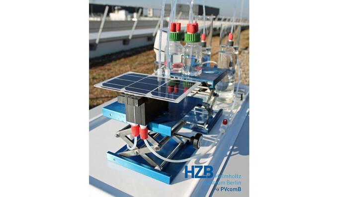 HZB untersuchte die besten Elektrolyseur-Photovoltaik-Kombinationen