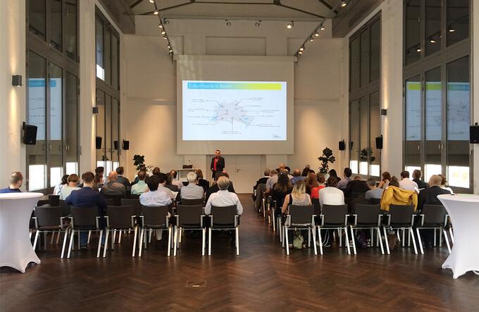 """Erfolgreiche Konferenz """"Klimaschutzziele 2050 – Transformation von Quartieren"""" in Berlin-Adlershof"""