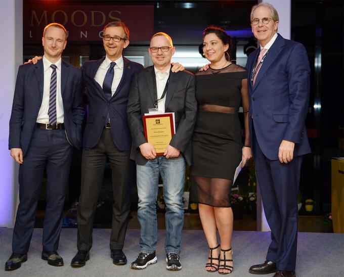 """René Wolgast erhält Auszeichnung als """"MBE-Franchisenehmer des Jahres"""""""
