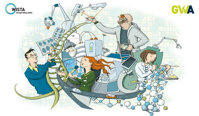 Von E-Flößen bis Mondmissionen: die neuen Projekte in der Gründerwerkstatt Adlershof