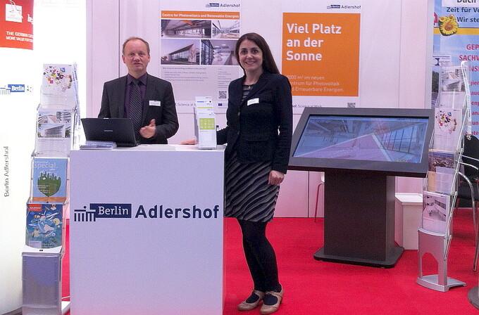Adlershof at Intersolar Munich