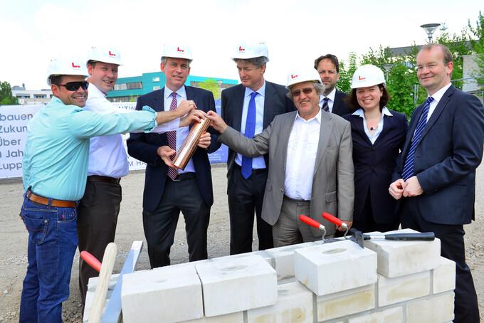 Grundsteinlegung für 3.500 qm OfficeLab H1 Adlershof
