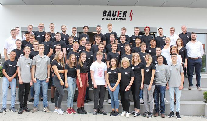 Start ins neue Ausbildungsjahr bei Bauer