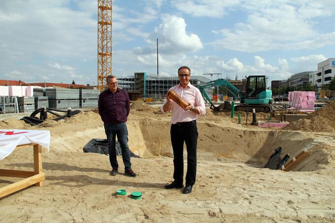 Grundsteinlegung für weiteren ifp-Neubau