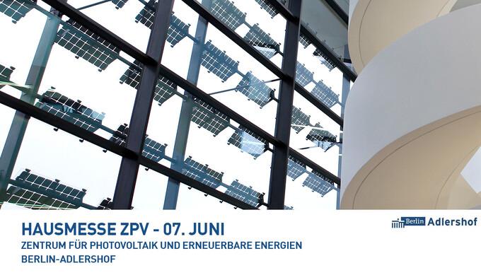 Erste Adlershofer Hausmesse zu 'Photovoltaik und Erneuerbare Energien'