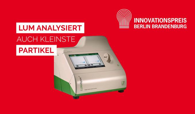 LUM GmbH für den Innovationspreis Berlin Brandenburg 2021 nominiert