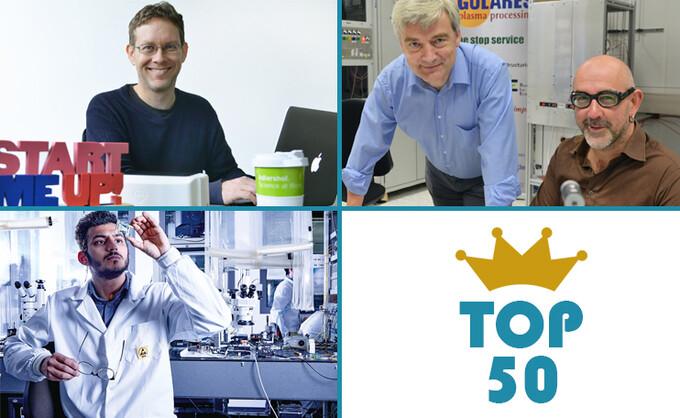 Drei Adlershofer Startups unter den Top 50