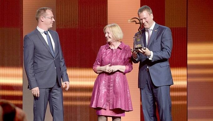 Innovationspreis Hermes Award 2016 für Harting Adlershof