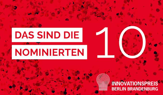 Die Nominierten für den Innovationspreis Berlin Brandenburg 2021 stehen fest