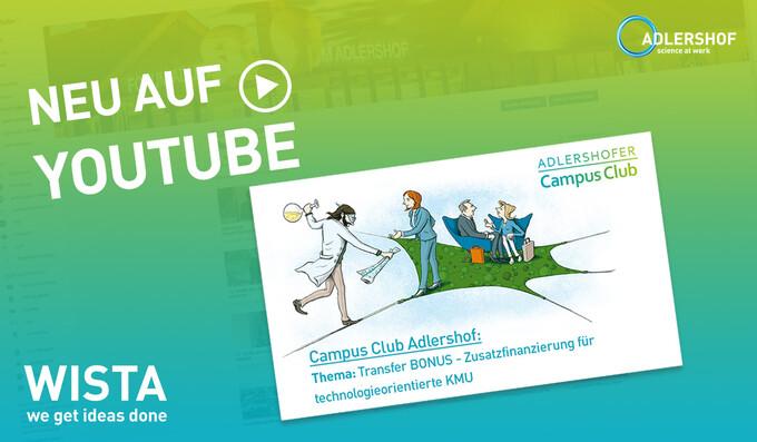 IBB-Experten stellen Zusatzfinanzierung für KMU im Adlershofer Campus Club vor