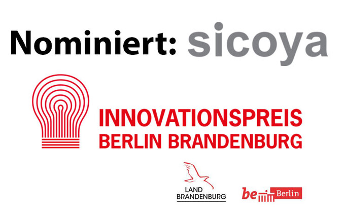 Adlershofer Sicoya für den Innovationspreis Berlin Brandenburg 2017 nominiert