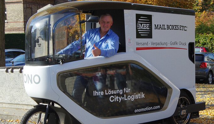 """Letzte """"Proberunde"""" für ONO - emissionsarme Transporte in Adlershof"""