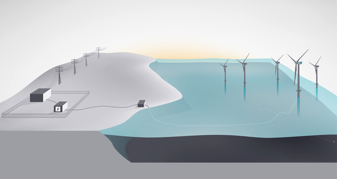 Smart battery for the world's first floating wind farm
