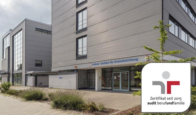 Leibniz-Institut für Kristallzüchtung (IKZ) erhält drittes Zertifikat zum audit berufundfamilie in Folge