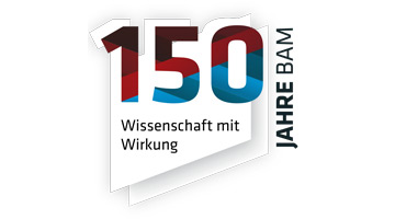 Logo: 150 Jahre BAM