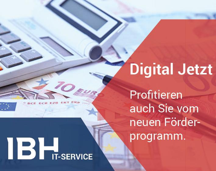 Digital Jetzt. Bild: IBH IT-Service GmbH