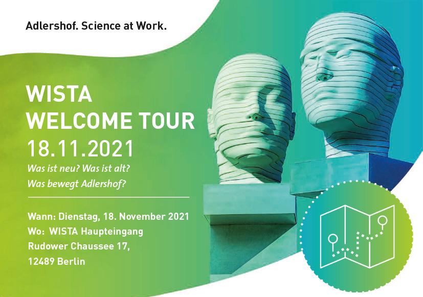Ankündigung WISTA Welcome Tour