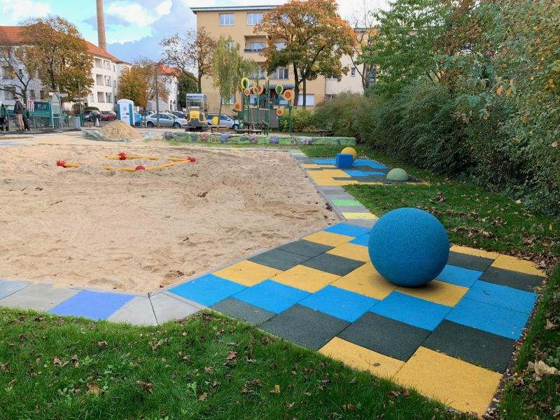 Spielplatz Wassermannstraße. Bild: BA-TK