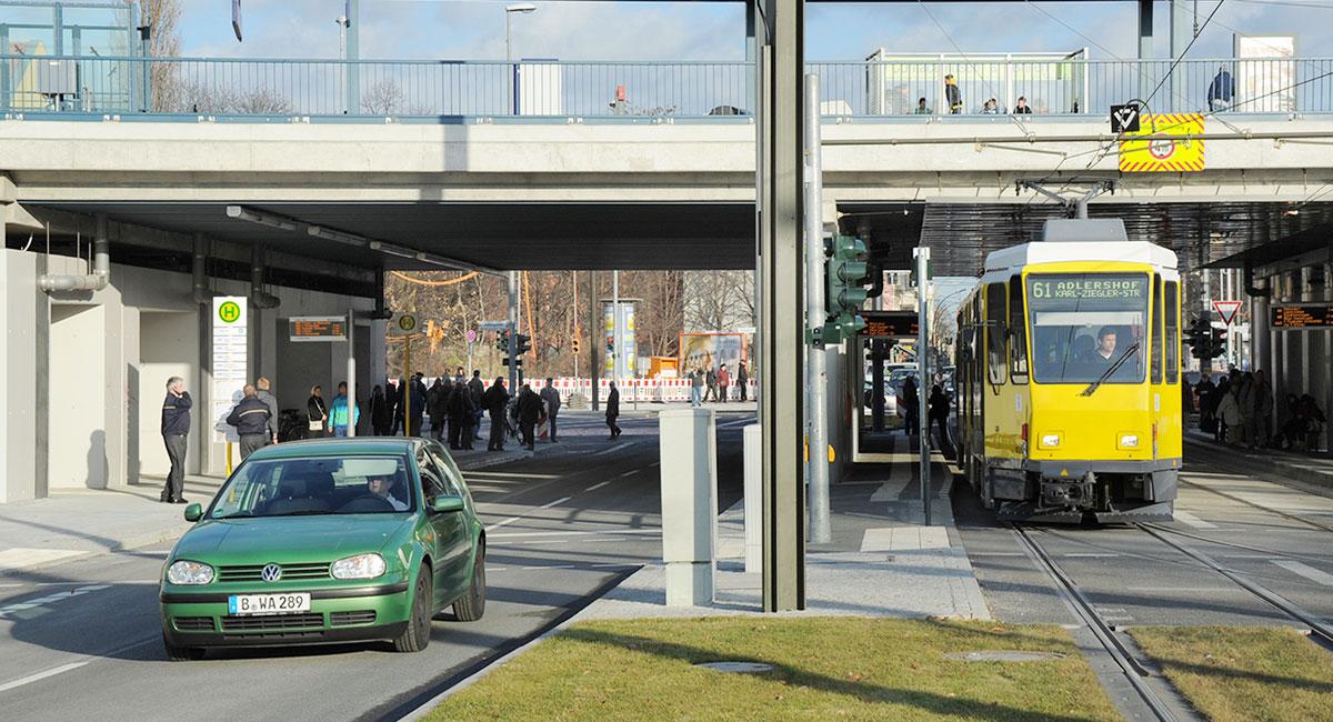 Adlergestell S-Bahn Haltestelle, Adlershof Bild: © WISTA Management GmbH
