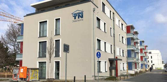 """Wohnungsbau-Genossenschaft """"Treptow Nord"""" eG (HumboldtEck)"""