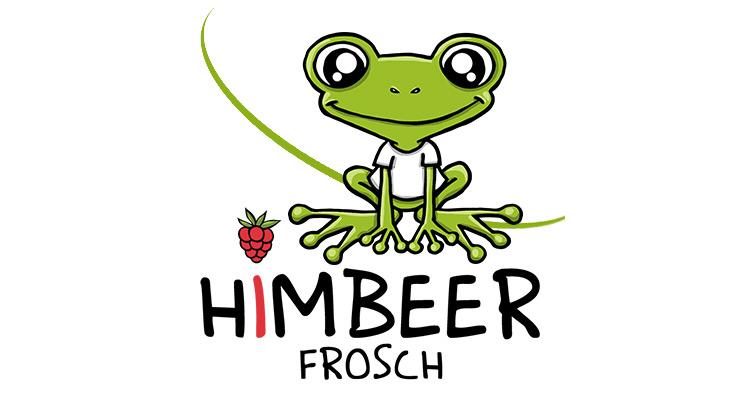 Logo: Himbeerfrosch