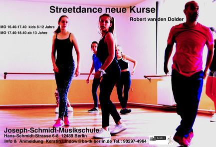 Adlershof lernt Street Dance