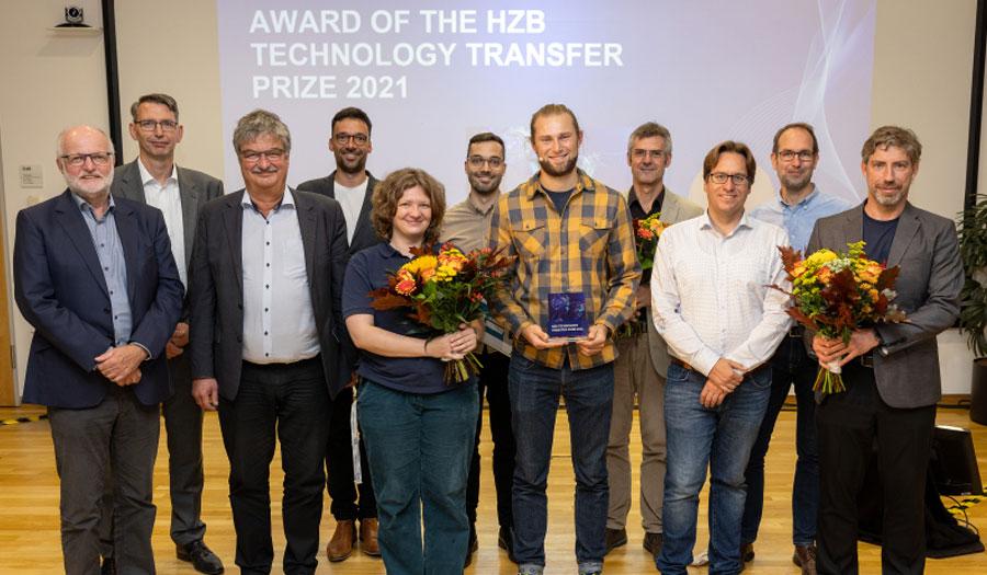 Gruppenbild © HZB / M. Setzpfand