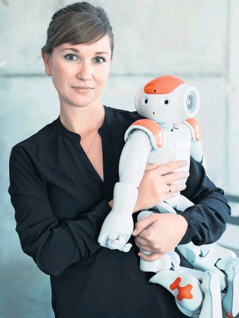 Prof. Dr. Linda Onnasch. Foto: © HU Berlin / Matthias Heyde
