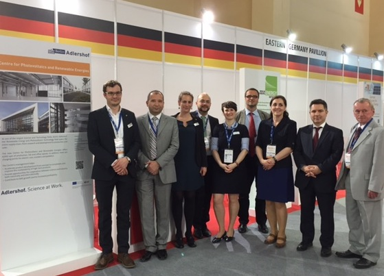 Adlershof at the 21. International Energy and Environment Fair and Conference ICCI in Istanbul