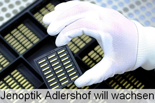 Jenoptik is expanding its laser production at Berlin Adlershof