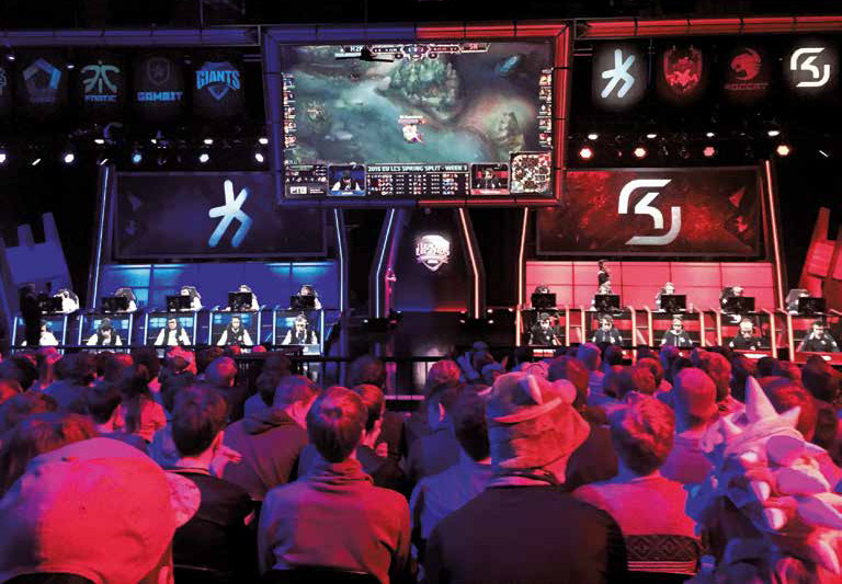 E-Sport im Studio K in Adlershof: Die europäische League of Legends Championship Series. Bild: © Adlershof Journal