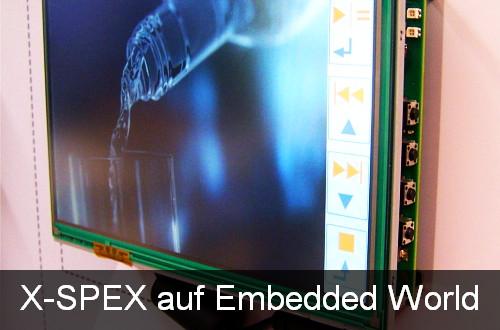 """X-SPEX mit """"DIRIS"""" auf der Embedded World 2011"""