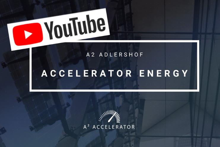 Video A² Accelerator Smart Energy 2017. Bild: © WISTA