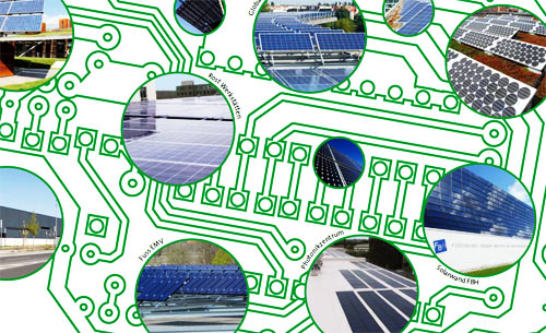 Photovoltaikanlagen in Berlin Adlershof, Bild: © Adlershof Journal