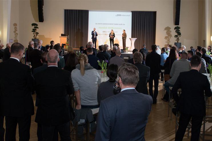 BPW Kontaktabend im Bunsen Saal Adlershof. Foto: Leo Seidel Fotodesign