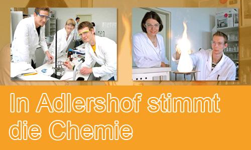In Adlershof stimmt die Chemie