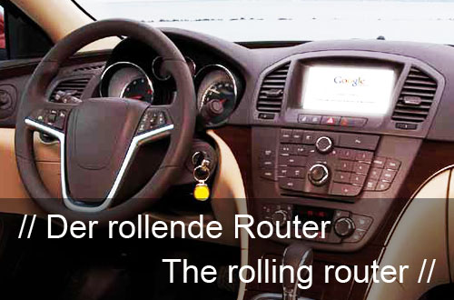 The rolling router