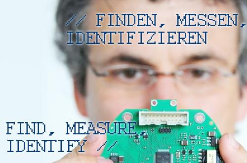 Find, measure, identify
