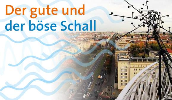 Filmaufnahmen mit der akustischen Kamera am Frankfurter Tor in Berlin. Bild: © Adlershof Journal
