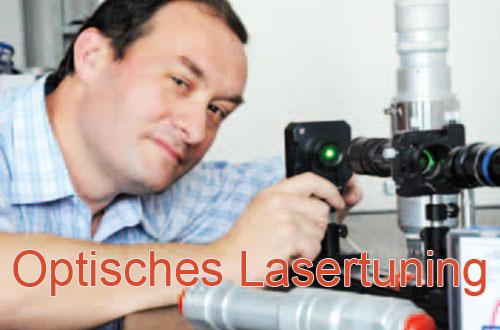 Optisches Lasertuning
