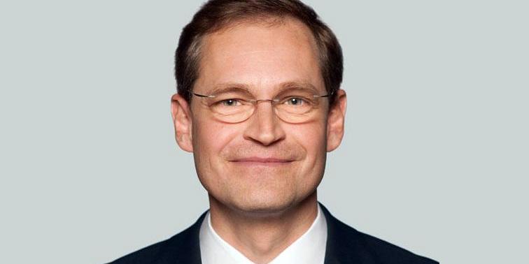 Michael Müller, Senator für Stadtentwicklung und Umwelt. Bild: © Adlershof Special
