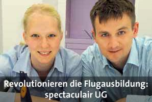 Sinikka Salchow und Sven Kornetzky bringen frischen Wind in die theoretische Flugausbildung, Bild: © Adlershof Journal